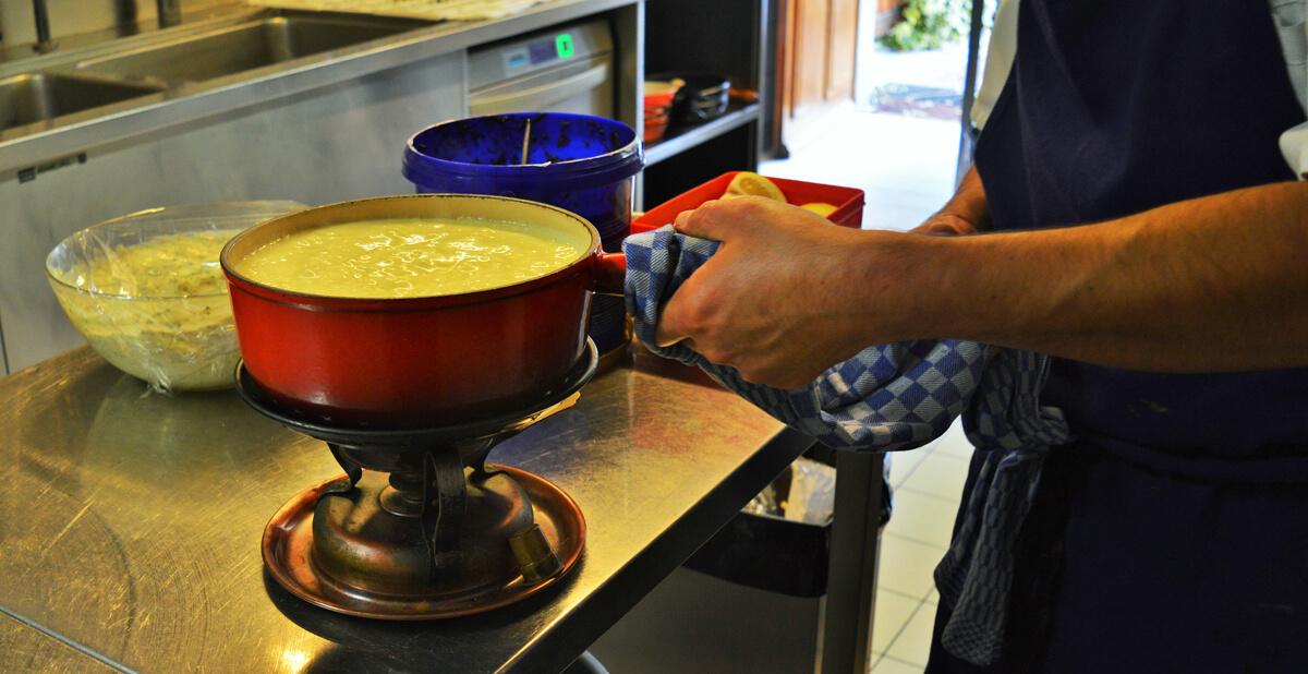 restaurant fondue confignon