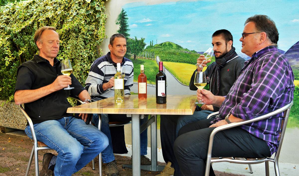 restaurant vins locaux du pays suisse